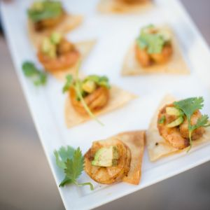 Shrimp Crostini | Catered by Made By Meg