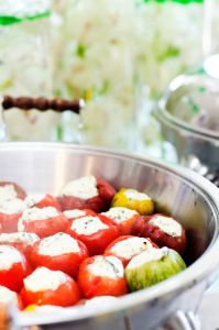 Stuffed Tomatoes | Catered by Made By Meg