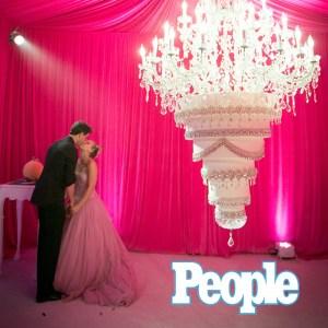 Kaley Cuoco Wedding - People Magazine