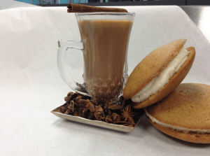 Latte and Cookies | Catered by Made By Meg