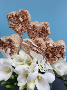Rice Krispies Hearts | Catered by Made By Meg