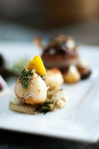 Scallop Dish | Catered by Made By Meg
