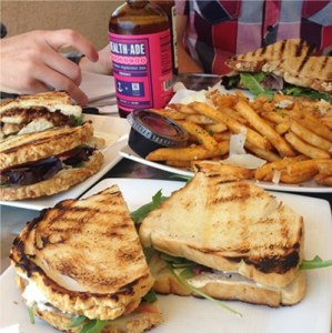 Sandwiches at The Counter Cafe
