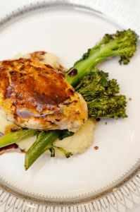 Roasted Chicken and Broccoli | Catered by Made By Meg