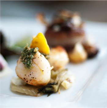 Scallop | Catered by Made By Meg