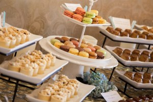 Dessert Platters with Macaroons and Tartes | Made By Meg Catering