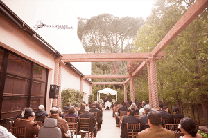 Outdoor Wedding Ceremony Norris Pavillion