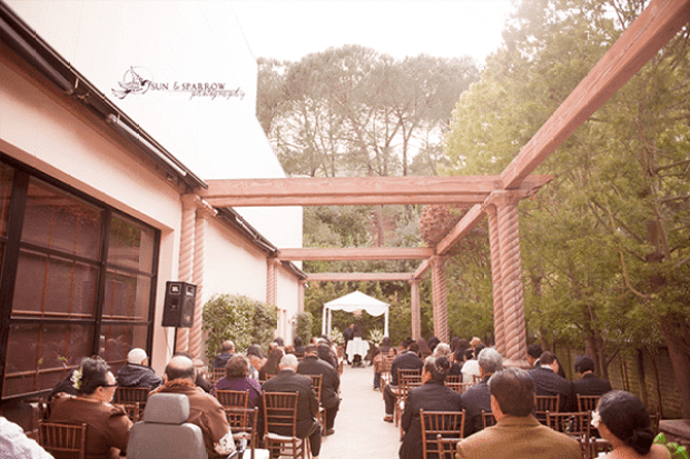 Norris Pavilion Outdoor Ceremony Area | Catered by Made By Meg