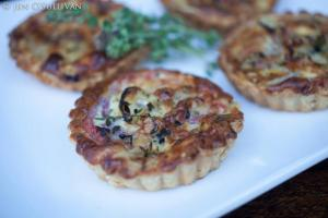 Heirloom Tomato Tart | Catered by Made By Meg