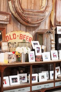 Wedding Reception Photo Station at Big Daddy's Antiques