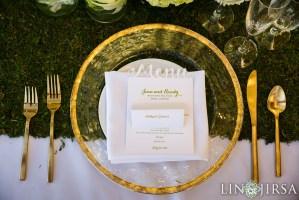 Table Setting at Malibu Rocky Oaks Wedding