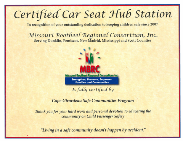 State Of Missouri Car Seat Laws