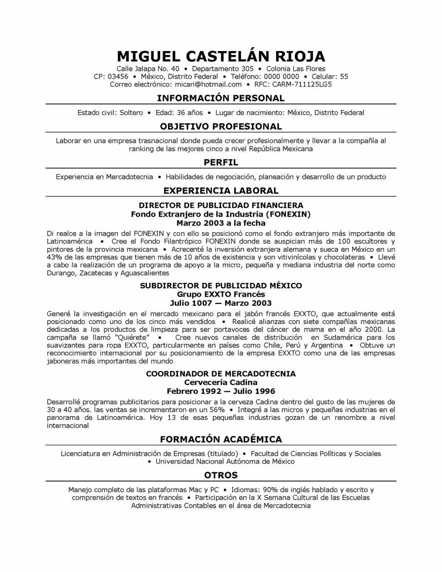 resume translator in english sample
