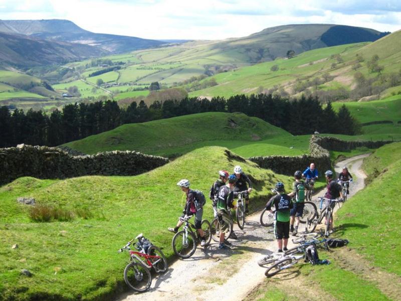 mountain biking peak district