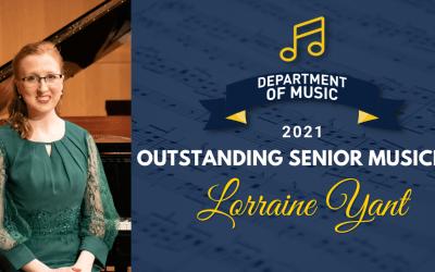 2021 Outstanding Musician—Lorraine Yant