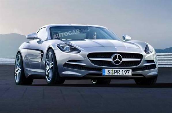 Mercedes Benz 2351111249336531600x1060 597x395 Secret sports car in the works