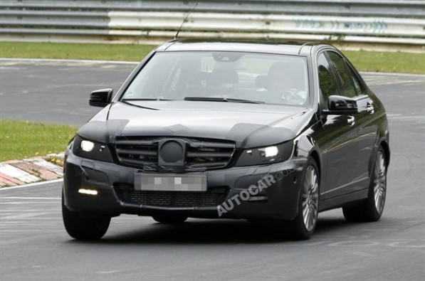 Mercedes Benz 61010101259242231600x1060 597x395 New C Class rounding the Nurburgring