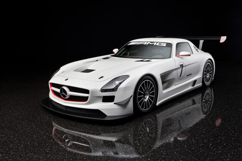 SLSGT31 SLS AMG GT3 Trio to Compete in 24 Hour Race, Marks End of Testing for Gullwing Sport Edition