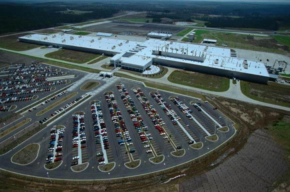Vance Plant Mercedes Benz Greens Up Vance, Alabama Plant
