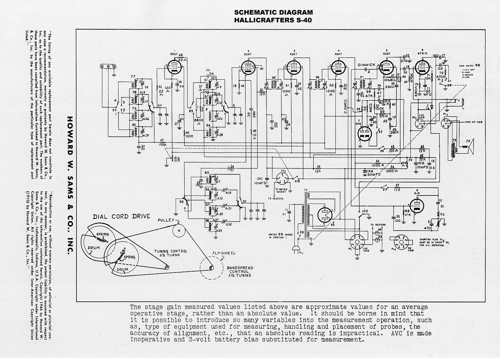 Short Wave Radio Schematic