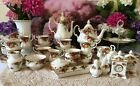 Royal Albert Old country Roses bone china tea and coffee set 1962s 1st quality