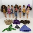 Spin Master Liv Dolls Lot Of 7 Dolls W Wigs  Clothes