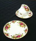 Royal Albert Bone China OLD COUNTRY ROSES Trio Bread Plate Cup