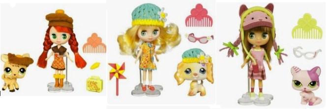 Petite Blythe dolls