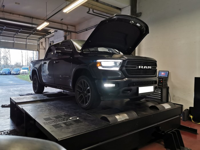 Conversion e85 ram 1500