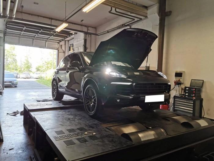 Conversion E85 Porsche