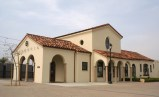Monrovia Santa Fe Train Depot