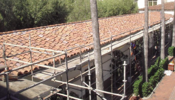 Re-roof project, Los Angeles Historic Union Station