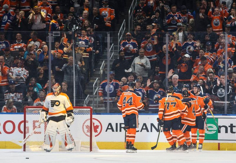 Flyers beaten up by Edmonton
