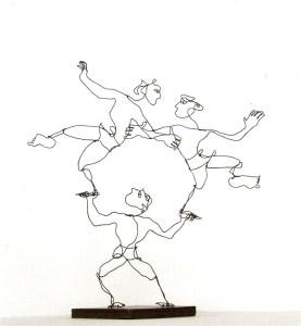 Alt-tekst: acrobaten