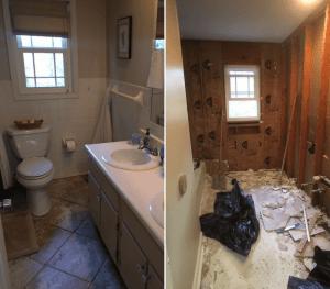 Arrowhead Bathroom Before