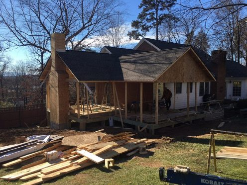 Thinking Outside-The-Box Cracked Outdoor Renovation Solution