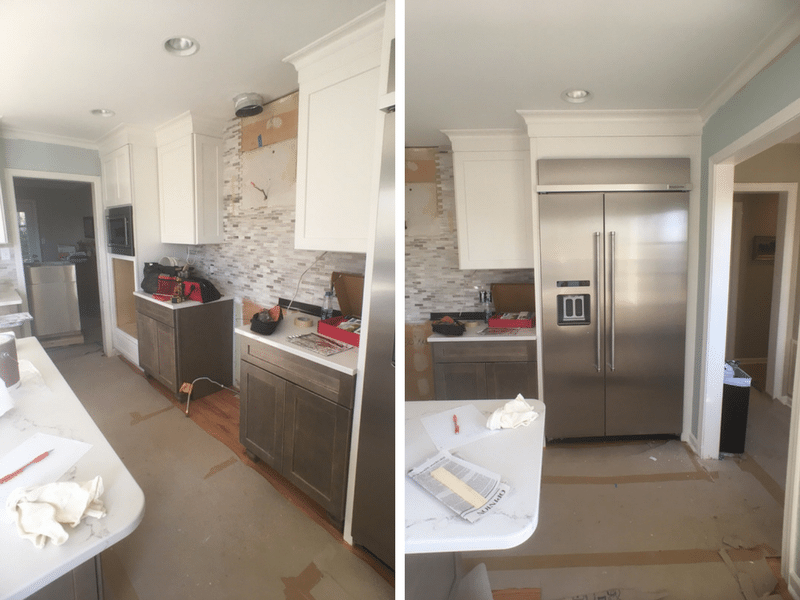 Riverbend Kitchen Progress