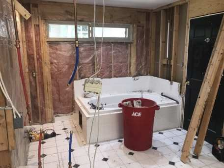Extra Touches On A Master Bath Remodel Delight Sequoyah Couple