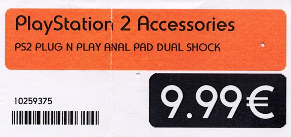 Plug n Play Anal Pad Dual Shock