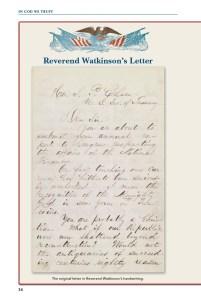 Reverend Mark Watkinson's letter.