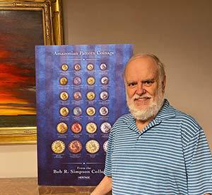 Bob R. Simpson, Numismatist