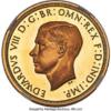 1937 Edward VIII 5 Pounds Gold