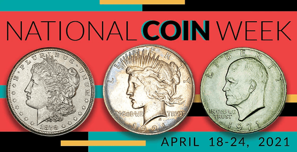 National Coin Week 2021 banner