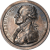 George Washington Commander in Chief, Armies of the United States (C.C.A.U.S.) silver medal