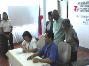 MCCID signs MOA with TESDA Womens' Center