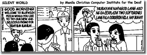 Silent World Comic Strip October 30 Issue