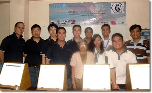 Manila Jaycees Donate Animation Light Boxes