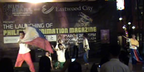 Students perform in First Animation Magazine Launch