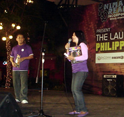 Mr. Eric Tansingco and Ms. Lina Valdez introduce the magazine.