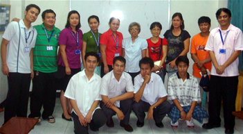 From left: Sir Jerome Marzan, Sir Ervin Reyes, Ma'am Tina Malay, Ma'am Charmagne Gaspar, Ma'am Beth Lumangyao, Ma'am Remedios Esposa, Mrs. Azares, Mrs. Galicha, Mr. Haguisan, Sir Jojo Esposa; Seated: Lendl Penaranda, Rommel Isagani Rosas, Kurt Patrick Galicha and Jeiel Karl Haguisan